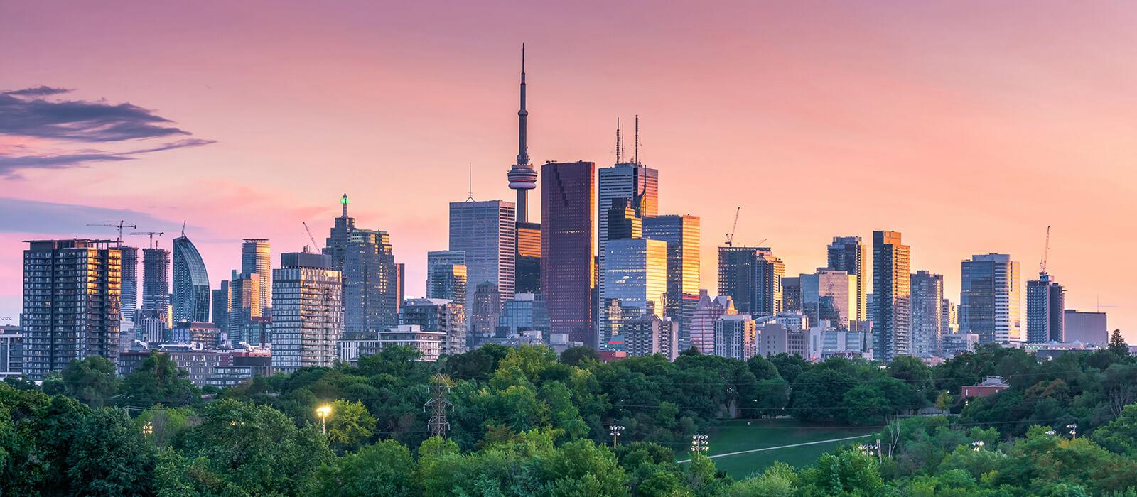 Slideshow Image - Toronto, Ontario Skyline